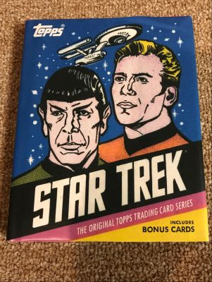 Star Trek TOPPS Trading Card Book Signed by...