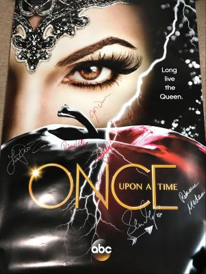Once Upon A Time One Sheet Poster Signed