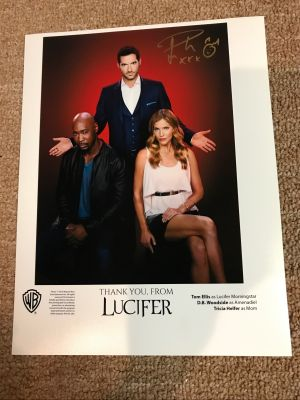 Promotional 8x10 Photo Lucifer TV Show - Si...
