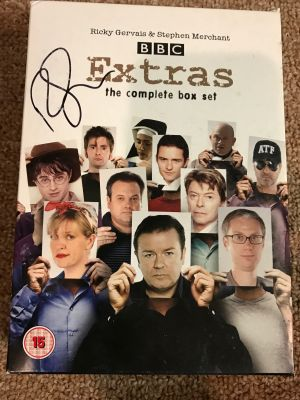 Extras The Complete Boxed Set DVD signed by...