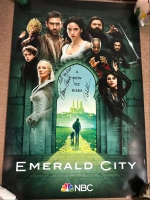 NBC's Emerald City One Sheet - Signed