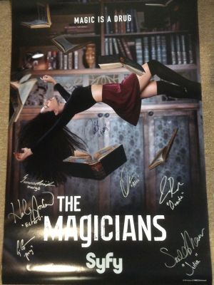 The Magicians One Sheet - autographed by ca...