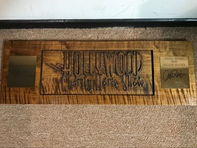 Hollywood Charity Horse Show Wood Plaque fr...