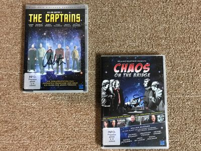 German Ltd Edition DVDs: The Captains and C...