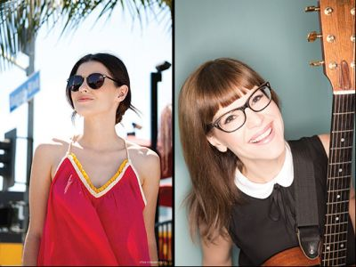 Los Angeles: Lisa Loeb Frames and Fitting