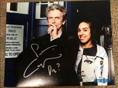 Doctor Who Photo - Signed By Peter Capaldi