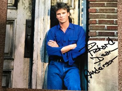 MacGyver photo - Signed by Richard Dean And...