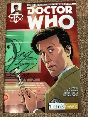 Doctor Who Comic - Autographed by Matt Smit...