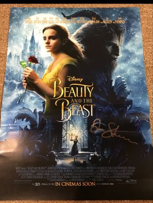 Beauty And The Beast Mini Poster Signed By ...