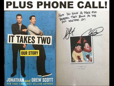 Property Brothers - It Takes Two Signed Boo...