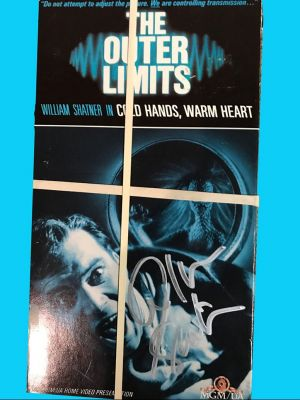 Cold Hands Warm Heart Outer Limits VHS Tape...