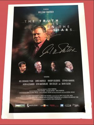 Truth Is In The Stars Poster - Autographed