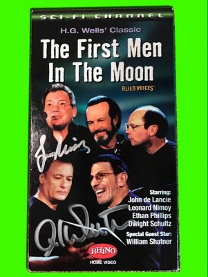 First Men in the Moon - VHS Tape Signed by ...