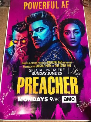 Preacher Poster Signed By The Cast