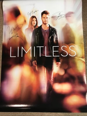 TV Show Limitless Signed Cast One Sheet Pos...