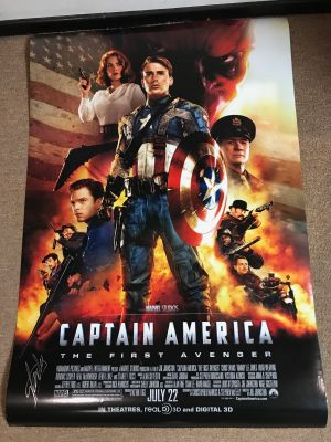 Captain America The First Avenger Movie One...