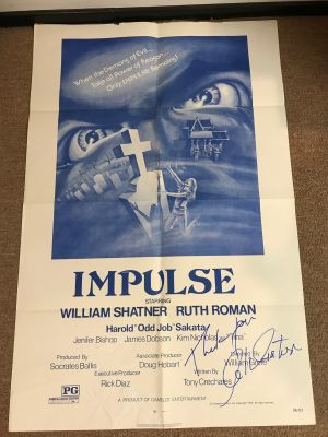 Impulse Movie One Sheet Signed by William S...