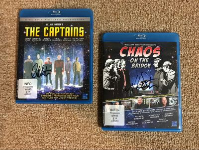 German Blu-Ray The Captains and Chaos on th...