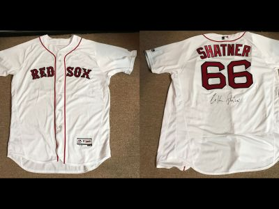 Boston Red Sox Shirt Worn By Mr. Shatner Th...