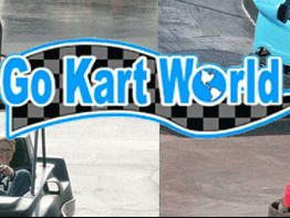 Go Cart World - 4 Go Kart Ride Passes