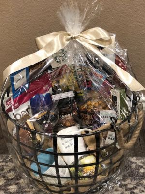 Mrs. Cobb's Date Night basket
