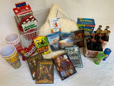 Ms. Baker's Family Movie Night Basket