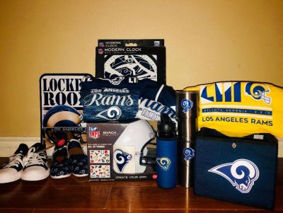 Mrs. Well's Rams Basket