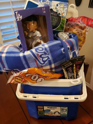 Mrs. Scott's Dodgers Basket