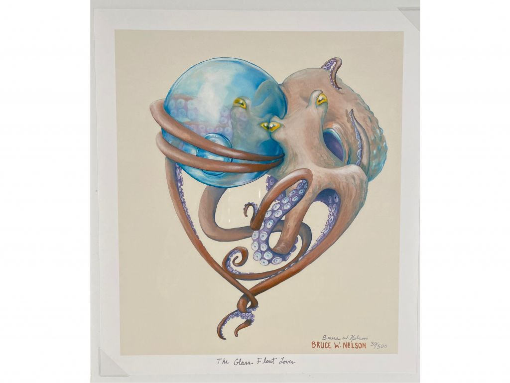 Unframed Print ''The Glass Float Lover'' print by Br...
