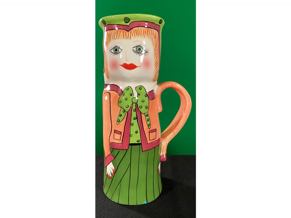 Ceramic Vase: ''Mary Mocha'' by Susan Paley