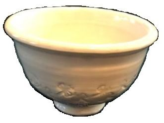 Ceramic Bowl with Dragon Fly Pattern by Clay Creek Pottery