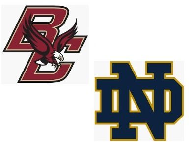 Boston College Eagles vs. Notre Dame Fighting Irish at ND