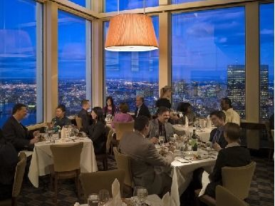 Top of the Hub Five course Prix-Fixe Dinner for two