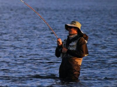 Fly Fishing with Fr. Peter Grover!