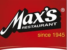 $25 Gift Card to Max's of Manila-Top 4 bidders