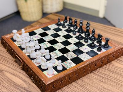 Chinese Marble Chess Set