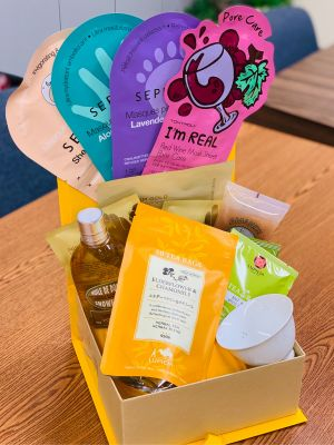 Self Care Basket by Class 2B