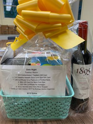 Date Night Basket by MSOS Early Learning Center Toddler Room