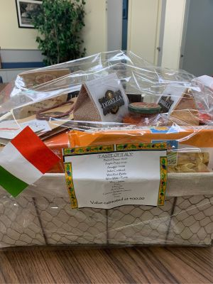 Taste of Italy Basket by MSOS Early Learning Center