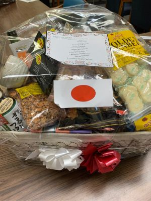 Taste of Japan Basket by MSOS Early Learning Center Class