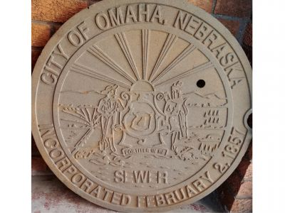City of Omaha Manhole Cover