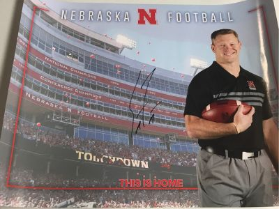 Signed Scott Frost poster