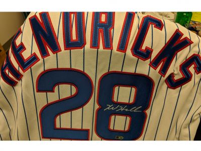 #28 Kyle Hendricks Chicago Cubs Autographed Jersey