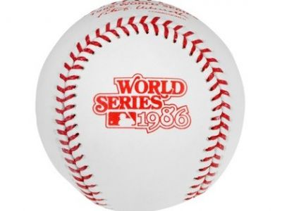 1986 Signed World Series Baseball