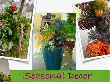 Seasonal Decor for Two Planters at Your Hom...