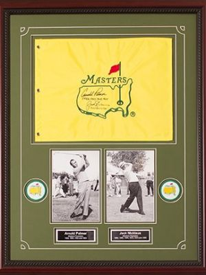 Autographed Masters Flag