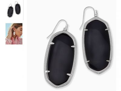 Kendra Scott Danielle Silver Drop Earrings