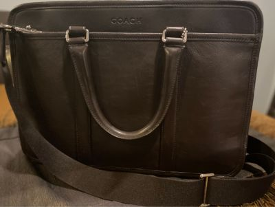 Coach Metropolitan Slim Briefcase