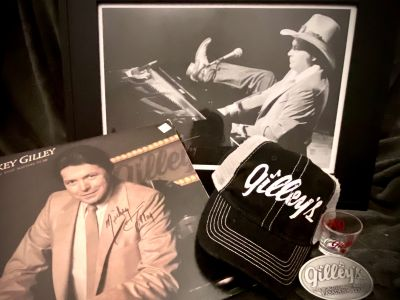 Mickey Gilley Memorabilia with Vinyl LP