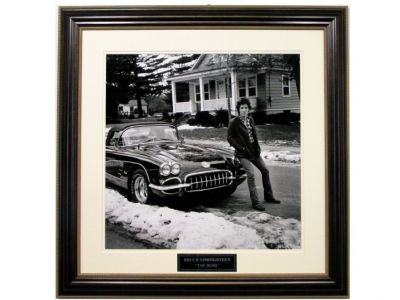 Bruce Springsteen  Corvette'' Photograph